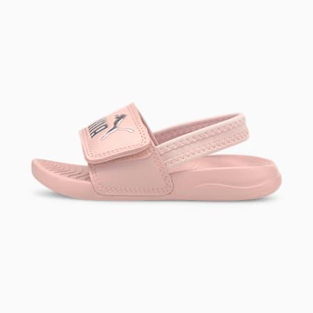 Popcat 20 Backstrap Babies' Sandals, Lotus-Puma Silver, small-SEA