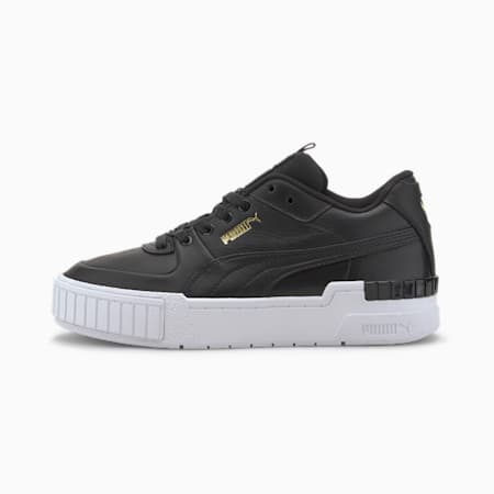 Cali Sport Women's Trainers, Puma Black-Puma White, small