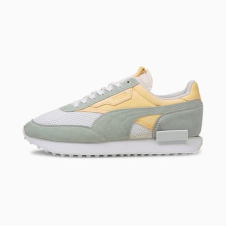 Future Rider Bye Dye Sneaker, Puma White-Whisper White, small
