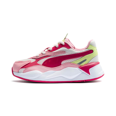 RS-X³ Summer Splash Little Kids' Shoes, Rosewater-BRIGHT ROSE, small