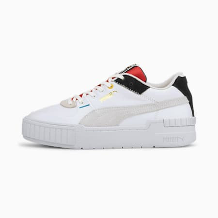 Cali Sport The Unity Collection Women's Sneakers, Puma White-Puma Black, small-IND