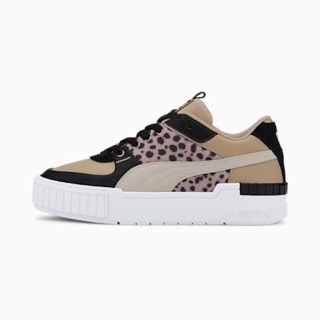 Cali Sport Cats Damen Sneaker, Pale Khaki-Puma White, small