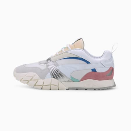 Kyron Awakening Women's Trainers, Puma White-Marshmallow, small