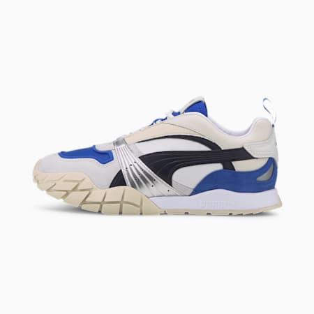 Kyron Awakening Women's Trainers, Puma White-Dazzling Blue, small