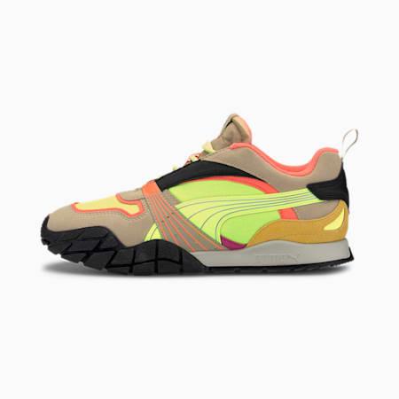 Kyron Bonfires Women's Sneakers, Fizzy Yellow-Pale Khaki, small