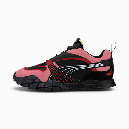 Kyron Bonfires Women's Sneakers, Puma Black-Salmon Rose, small