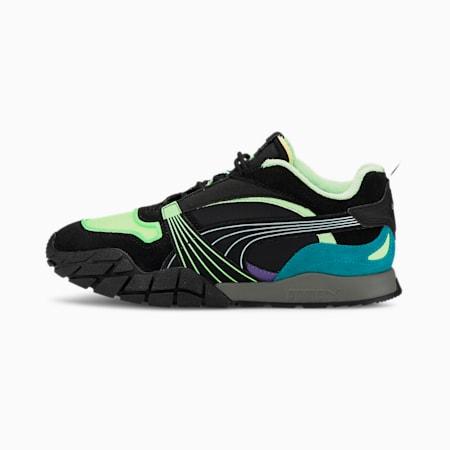 Kyron Bonfire Women's CMEVA Sneakers, Elektro Green-Puma Black, small-IND
