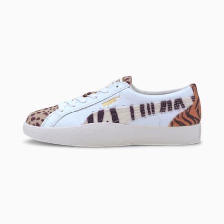 Zapatos deportivos Love Wildcats para mujer, Puma White-Pale Khaki, pequeño
