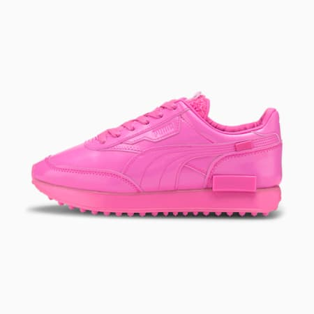 Future Rider Pretty Pink Women's Sneakers, Luminous Pink, small-IND