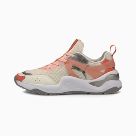 Rise Mixed Metallic Damen Sneaker, Vaporous Gray-Paprika, small