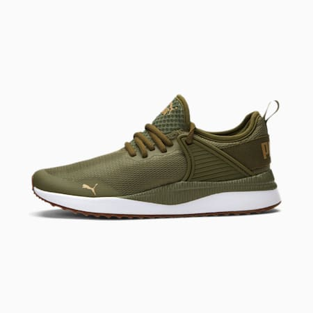 Pacer Next Cage Fresh Women's Sneakers, Burnt Olive-Puma White-Gum, small