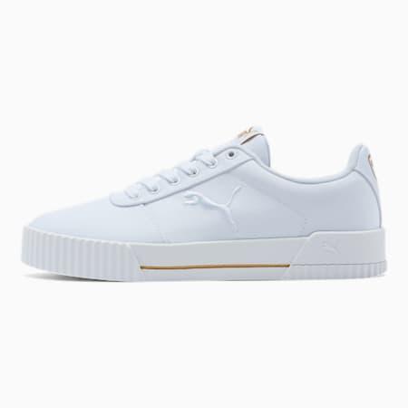Carina Summer Cat Women's Sneakers, Puma White-Puma White, small