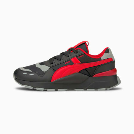 RS 2.0 Future Shoes, Puma Black-Poppy Red-Quarry, small-IND