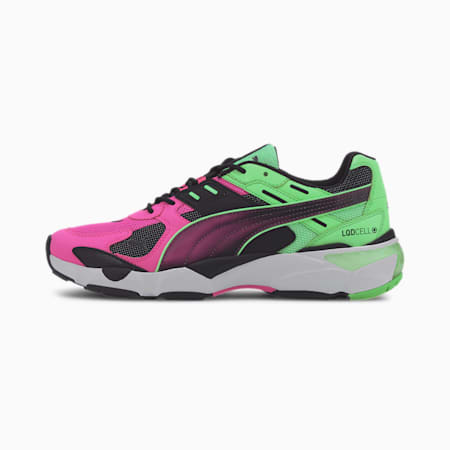 LQDCELL Extol Old Circuits Men's Sneakers, Puma Black-Luminous Pink, small