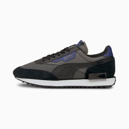 Future Rider Core Unisex Training Shoes, CASTLEROCK-Puma Black, small-IND