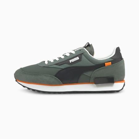 Future Rider Sneaker, Balsam Green-Puma White, small