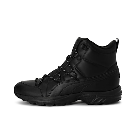 Axis Trail Boot WTR Shoes, Black-Black-Puma Aged Silver, small-IND