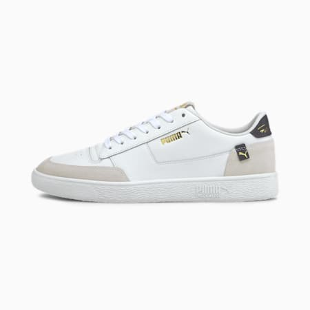 Ralph Sampson MC Clean Sneaker, Puma White-Peacot-Puma White, small