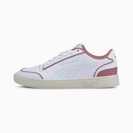 Ralph Sampson Lo Perforated Outline Trainers, P Wht-Foxglove-Whisper Wht, small-GBR