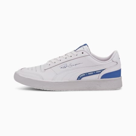 Ralph Sampson Lo Woven Sneakers, Puma White-Lapis Blue, small-IND