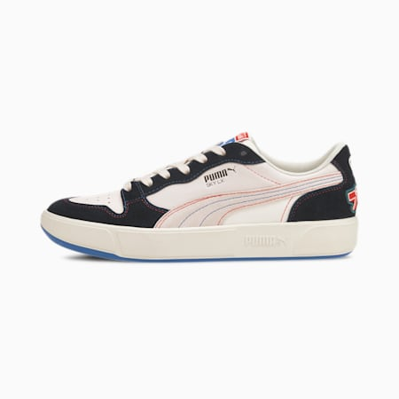 Sky LX Low Japanorama Trainers, Whisper White-Red-Lapis, small-SEA
