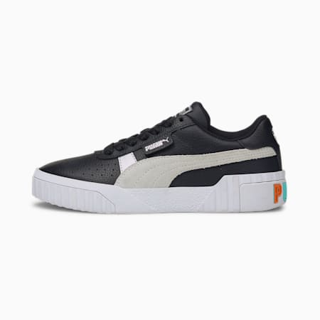 Cali Varsity Women's Trainers, Puma Black-Puma White, small