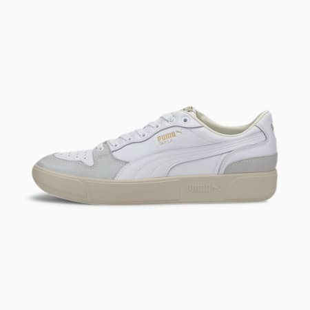 Sky LX Lo Luxe Sneakers, Puma White-Whisper White, small