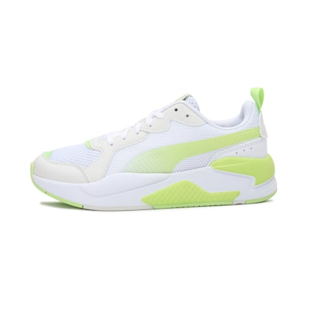 X-Ray Fantastic Plastic IMEVA Women's Shoes, White-Green-Vaporous Gray, small-IND