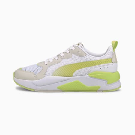 X-Ray Fantastic Plastic Women's Trainers, White-Green-Vaporous Gray, small-SEA