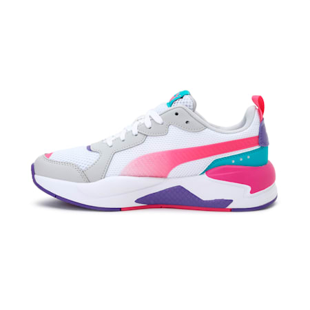 X-Ray Fantastic Plastic IMEVA Women's Shoes, White-Pink-Gray Violet-Green, small-IND
