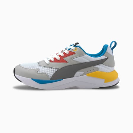 X-Ray Lite Unisex Shoes, Puma White-Steel Gray-Gray Violet-Paprika-Dresden Blue, small-IND