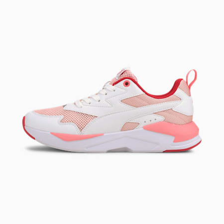 X-Ray Lite Shoes, Peachskin-White-Red-Silver, small-IND