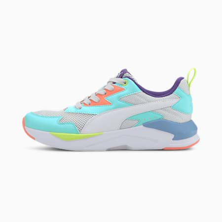 X-Ray Lite Trainers, Gray-White-BLUE-Coral-Violet, small-GBR