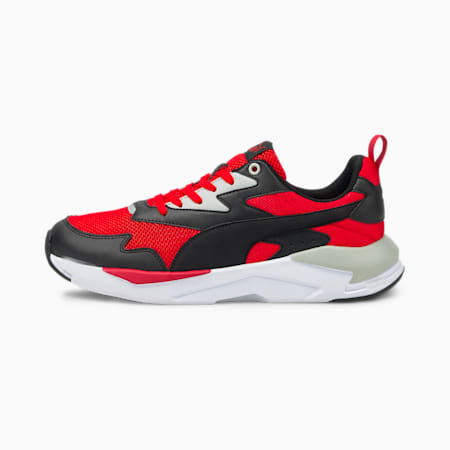 X-Ray Lite Unisex Shoes, Poppy Red-Puma Black-American Beauty-Puma White, small-IND