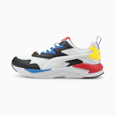 X-Ray Lite Unisex Shoes, Puma White-Puma White-Puma Black-Nebulas Blue-High Risk Red, small-IND