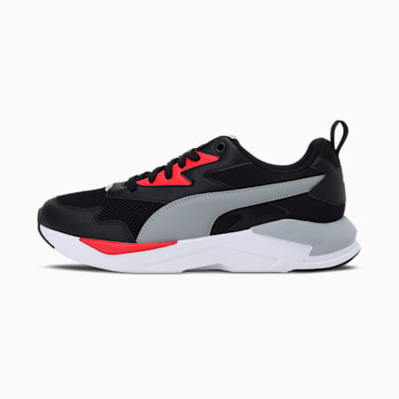 X-Ray Lite Unisex Shoes, Puma Black-Quarry-High Risk Red, small-IND