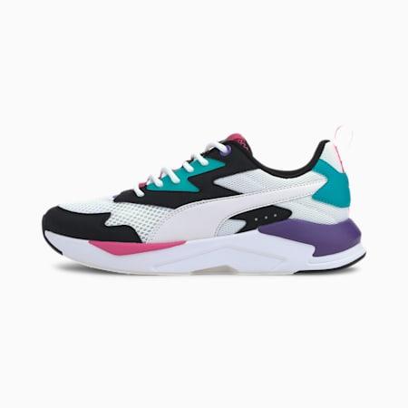 X-Ray Lite Duo IMEVA Shoes, Puma Black-Puma White-Viridian Green-Ultra Violet, small-IND