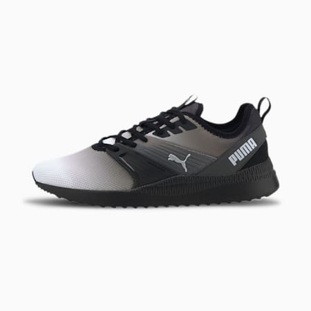 Pacer Next FFWD SoftFoam+ Gradient Shoes, Black-Dark Shadow-Silver, small-IND