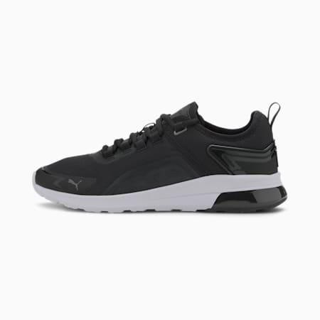 Electron Street Era SoftFoam+ Shoes, Puma Black-Dark Shadow-White, small-IND
