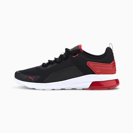 Electron Street Era Trainers, Black-High Risk Red-White, small-GBR