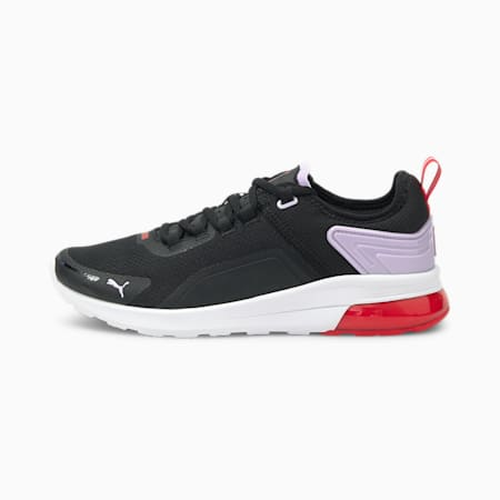 Electron Street Era SoftFoam+ Shoes, Black-Light Lavender-Red, small-IND