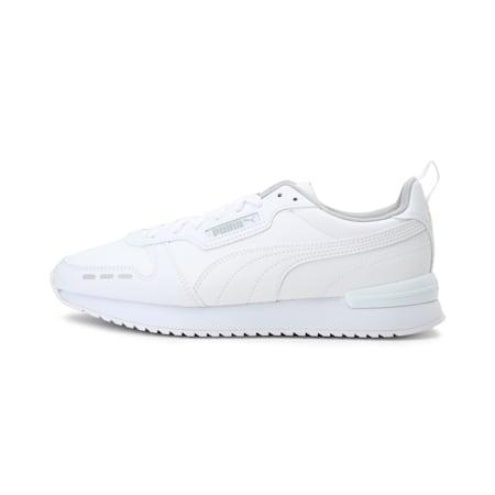 PUMA R78 Unisex Sneakers, Puma White-Puma White, small-IND