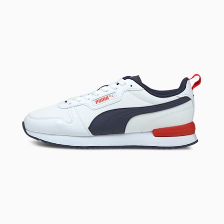 PUMA R78 Unisex Sneakers, Puma White-Peacoat, small-IND
