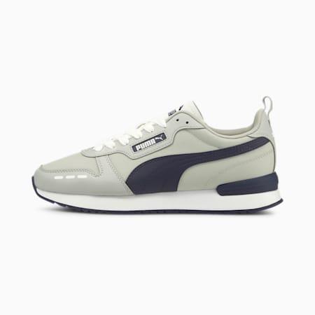 Zapatos deportivos PUMA R78, Gray Violet-Peacoat-White, pequeño