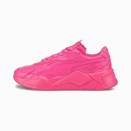 RS-X³ Pretty Pink Women's Sneakers, Luminous Pink-Metallic Pink, small-SEA