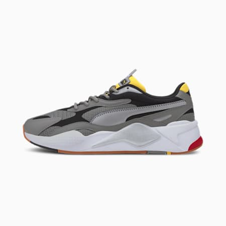 RS-X³ Grids Sneakers, Ultra Gray-Metallic Silver, small