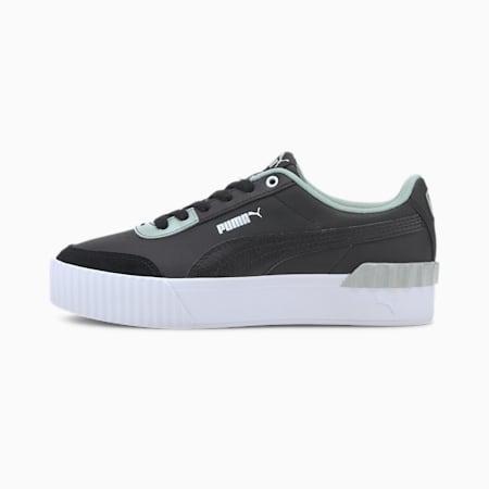 Carina Lift Pearl Women's Sneakers, Puma Black-Puma Black, small-IND