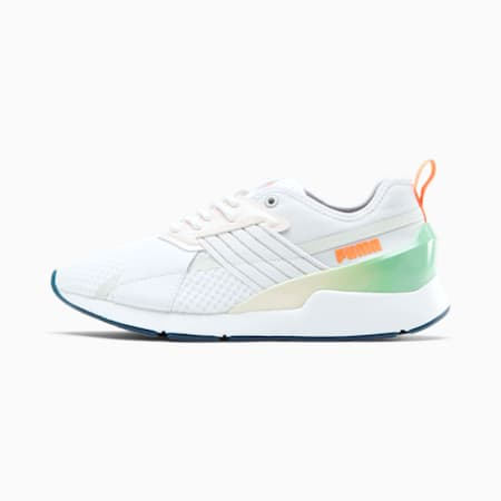 Muse X-2 Clear Women's Sneakers, P.White-P.White-Rosewater, small