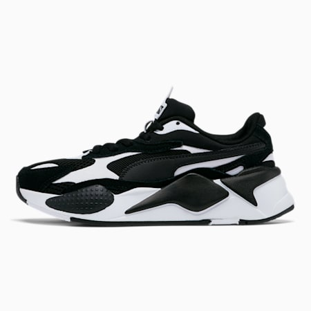 RS-X³ Super Sneakers JR, P.White-P.Black-P.Black, small