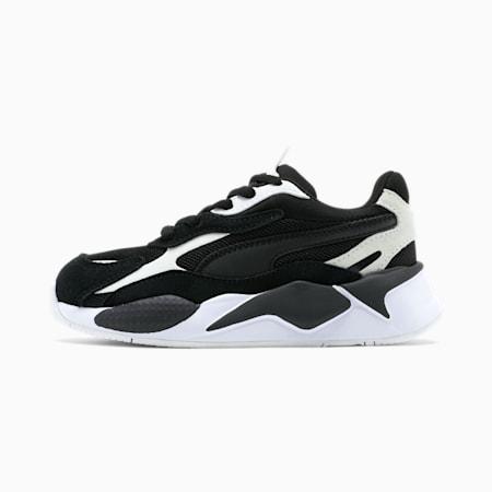 RS-X³ Super Little Kids' Sneakers, P.White-P.Black-P.Black, small